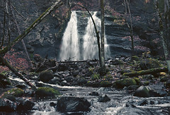 vintage camera photography (steffos1986) Tags: nature landscape cascade waterfall