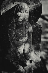 (小川 Ogawasan) Tags: 石仏 japan japon kamakura sekibutsu sculpture art religion buddha statue 倉駅 鎌倉 engakuji 円覚寺 nyoian 如意庵