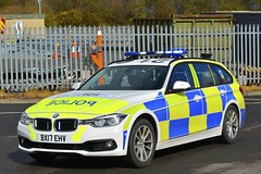BX17 EHV (S11 AUN) Tags: staffordshire staffs police cmpg centralmotorwaypolicegroup bmw 330d 3series touring anpr traffic car rpu roads policing unit 999 emergency vehicle bx17ehv