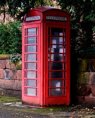 Red Telephone Box Booth Phone (mrd1xjr) Tags: red telephone box booth phone