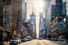 Street (Karlgoro1) Tags: sony alpha a7r ii mirrorless digital camera ilce7rm2 carl zeiss variosonnar t 3570 mm f 34 cy lens contax manhattan new york city street windows architecture building sky skyscraper window lines side reflections geometric tower structure road