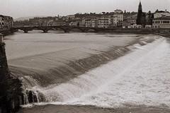 Florence-Arno (michele.palombi) Tags: river arno tuscany film florence analogic kodak trix darkroom