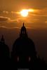 Basilica (Nicola Pezzoli) Tags: basilica santa maria salute italia venezia venice carnevale canals canali italy travel sunset sun sphere orange zoom