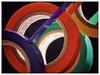 Poly Vinyl Chloride On A Roll (DeanoNC) Tags: tape pvc plastic macromondays