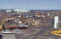 Midwest Steel 133 (Fan-T) Tags: midwest steel scrap freight car junk metal rust belt yn youngstown ohio