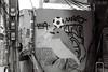 LMSA (D. R. Hill Photography) Tags: blackandwhite monochrome analog film kodak kodakfilm kodaktmax100 tmax 135 35mmfilm nikon nikonfe2 fe2 nikon50mmf18 nikon50mm 50mm primelens fixedfocallength manualfocus bangkok thailand asia southeastasia street streetphotography art streetart graffiti