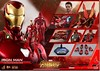 New Iron Man suit in new Avengers Infinity War (Violet Playz) Tags: iron man avengers infinity war mark 50 l vibranium suit hot toys has wings 16th scale 12