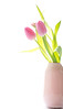 Spring feeling (WillemijnB) Tags: tulip tulp tulipe pink rose roze vase vaas spring lente voorjaar printemps fresh