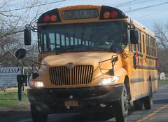 New Paltz CSD #134 (ThoseGuys119) Tags: newpaltzcsd newpaltzny schoolbus ic ce leonardbussales extrastorage whitetop
