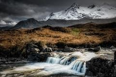 Sligachan Falls (deanallanphotography) Tags: art cascade colors landscape mountain ngc natgeo nature photography scotland sunset travel uk water waterfall