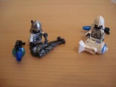 Combat Droids (hacking disabled riobots) (Śląski Hutas) Tags: lego bricks minifigures scifi futuristic robots androids poland polska
