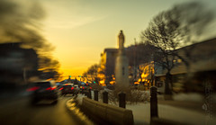 Downtown Sunset (Paul Howard Photo) Tags: ifttt 500px winter 5dmkiii alberta canon canoncameras capture4cubes lensbaby reddeer blur canonlenses city downtown landscape landscapephotography motion outdoor paulhowardphoto paulhowardphotocom paulhowardphotography protectedbypixsy street sunset urban light dusk boulevard avenue road twilight
