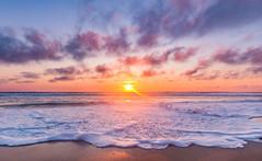 Waiting for Summer... (MrLoveland) Tags: sunrise sun summer landscape beacheslandscapes beach seascape ocean clouds beautiful obx water waves sea morning travel