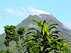 Arenal Volcano (Colorado Sands on break) Tags: lafortuna volcano volcanic steam plant activevolcano puravida centralamerica costarica costarican arenal alajuelaprovince sandraleidholdt mountain