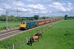87001 Gayton (Gridboy56) Tags: virgin virgintrains locomotive locomotives london euston wolverhampton northamptonshire uk europe england electric trains train railways railroad class87 87001 stephenson ac brblue