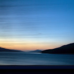 Sunset from a car window thumbnail