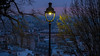 Early Morning (sdupimages) Tags: floorlamp lampadaire lighting éclairage lumière matin sunrise bluehour rue street paris cityscape city montmartre light