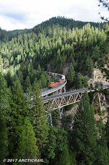 Off the Gateway (arcticrail) Tags: uprr union up pacific railroad rail railway rails railroads railfan railroading western wp feather river canyon california keddie wye