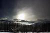 Nubi basse (FM54TO) Tags: nubi neve sole cielo alberi inverno