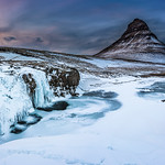 Kirkjufell, March sunset thumbnail