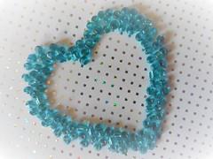 Blue Heart (Hannelore_B) Tags: macro herz heart blau blue theblues macromondays