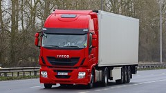WSE 6AG3 (panmanstan) Tags: iveco stralis hiway wagon truck lorry commercial international freight transport haulage vehicle a63 everthorpe yorkshire