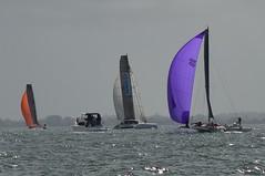LOX_4108 (Lox Pix) Tags: australia queensland brisbanetogladstone yachtrace catamaran trimaran 2018 bossracing multihull loxpix moretonbay shorncliffe cabbagetreecreek rudder aground sailing loxworx