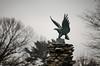 Eagle Statue (Blake Bolinger) Tags: greenwoodcemetery hamilton nj newjersey mercercounty eagle statue