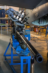 Molins 57mm 6lb Auto Cannon - 2 (NickJ 1972) Tags: dehavilland heritage aircraft museum aviation molins 57mm 6lb auto cannon mosquito