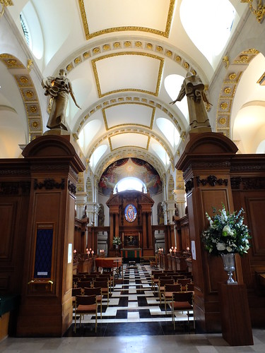 Inside St Bride's