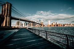 New York (Tim RT) Tags: tim rt usa united states america dumbo brooklyn park bridge manhattan skyline sky water east river financial deistrict landmark newyork new york city ny nyc empire state mind sunrise sun morning travel beautiful visual inspired hypebeast color team fuji fujifilm xt xt2 xf1024mm light photography street