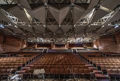 School Auditorium (Brook-Ward) Tags: hdr brook ward detroit mi michigan ue urban exploration urbex abandoned abandonment grime decay old school auditorium architecture building
