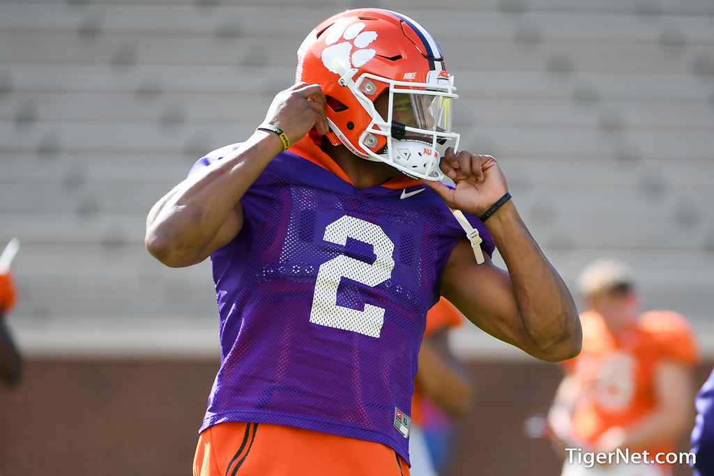 Clemson Photos: Kelly  Bryant, 2018, Football