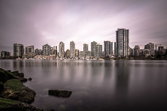 April 4, 2018. (Amanda Catching) Tags: today longexposure light city skyline vancouver false creek
