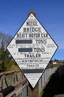 Grand Junction Canal Sign