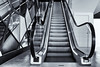 going up (sure2talk) Tags: goingup escalator leadinglines blackandwhite mirror westquay leisurecomplex southampton nikond7000 nikkor1855mmf3556afs 118picturesin201837leadinglines
