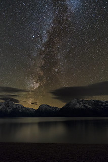 Milky Way Rising Over the Grand Tetons