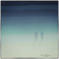 Walking the Dog (ICM & Me) Tags: icm intentionalcameramovement outerhebrides lewis traighnabeirghe flou multipleexposure abstract