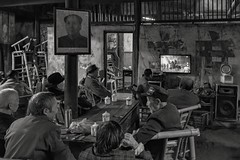 *The Old Teahouse @ A place of contrasts* (Albert Wirtz @ Landscape and Nature Photography) Tags: albertwirtz oldteahouse pengzhen pengzhentown chengdu blackandwhite blackwhite schwarzweiss bw oldteahousescenes nikon d810 china asia asien lebeninchina chinalife sichuanprovince culture teahouseculture teeculture teekultur teehauskultur livinginchina highiso gegensatz contrast