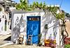 Επάνω  Ελούντα Κρητη - Crete (Arianeta LIB) Tags: crete elounda traditional greekvillage cretanvillage door blue white