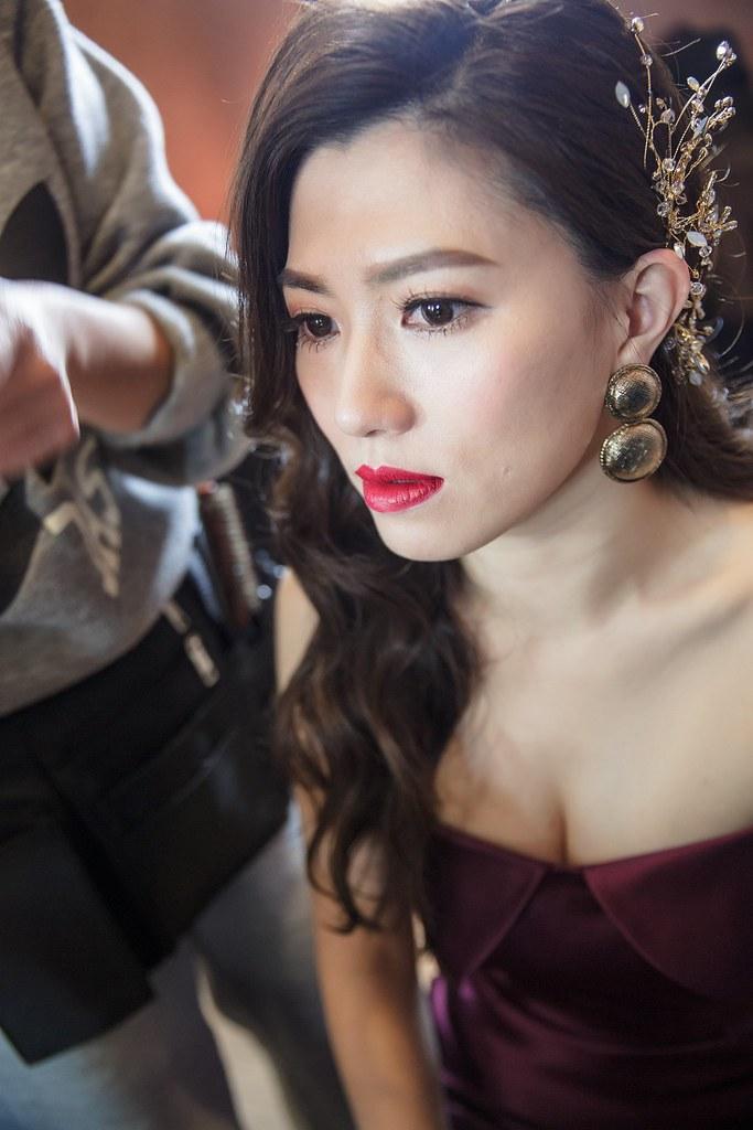 新娘秘書化妝