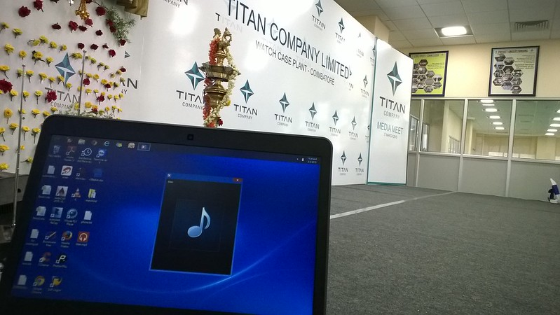 Titan Watch Factory Press Meet