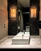 Men's restroom (SteveMather) Tags: ocharleys restaurant mens restroom toilet modern architecture contemporary square sink lights lighting topaz dfine viewpoint ocharlies ceramic tile wall tiles