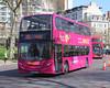 Reading Transport Ltd . 1212 DU61FVY . Hyde Park Corner , London . Wednesday 18th-April-2018 . (AndrewHA's) Tags: bus coach hydeparkcorner london reading transport berkshire alexander dennis enviro 400 adl trident 1212 du61fvy vamooz green line route 702 bracknell secondhand lloyds machynlleth lc61wyn gogoodwins eccles manchester go60ody