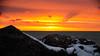 Mars Morning DSN_1660 (iloleo) Tags: sunrise colourful ashbridges nature sun clouds winter nikond7000 rocks lakeontario toronto landscape