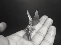 Hada Diseño de Yshihida Kimura  #origami #365origamichallenge (aronnypivaral) Tags: origami 365origamichallenge