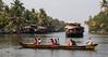 On the Kerala Backwaters (amanda & allan) Tags: kerala backwaters alleppey india kettuvallams houseboats houseboat riceboat riceboats palms palmtrees veniceoftheeast