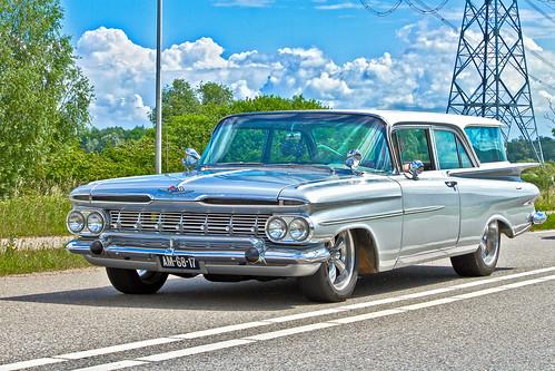 Chevrolet Brookwood 2-door Station Wagon 1959 (2332)