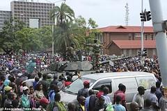 Zimbabwe tells Robert Mugabe to go! Solidarity March, 18 Nov 2017 (Zimbabwean-eyes) Tags: harare zwe bulawayo africa coup mugabe politics solidarity march flag zimbabwe