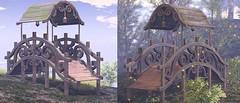 Bridge WIP (Dani @ Birdy/Foxes/Alchemy) Tags: sl second life fantasy mesh bridge alchemy ~alchemy~ environmental